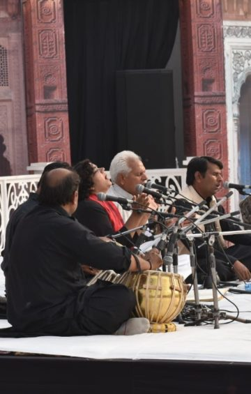 Qawwali at Urdu Festival, Delhi